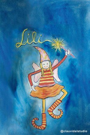 Ilustración Lili - Clau Vidal